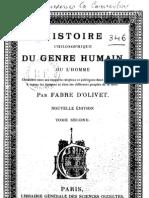 Histoire Philisophique Du Genre Humain Tome 2