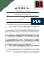 Missouri HB0041 Attempts To Redefine Natural Born Citizen -  2/24/2013