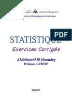 Exercices de Statistique 2006