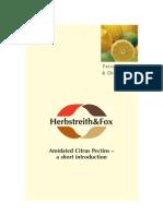 FuE Amidated Citrus Pectins
