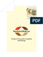 FuE Pectins in Preventive Nutrition and Therapy (1)