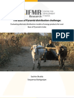 India- The Base of Pyramid Distribution Challenge-IfMR