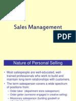 Sales Management