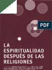 104304504 La Espiritualidad Despues de Las Religiones AAVV