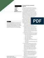 Fefteen Steps to a Complete HR Program