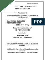 Ruchika Practicl File