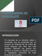Planta Procesadora de Chocolate