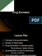 - Drug Excretion- Feb 2012 - 07