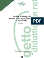 Lezioni Di Topografia. Volume 4