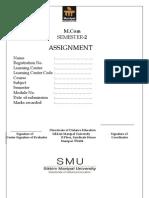 MCC 201 Assignment Winter 2012
