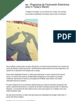 Market Report   Programas de Facturación Electrónica Believed A-Must In Today's Market.20130224.065715
