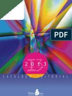 Catalogo 2013 Editorial Sirio
