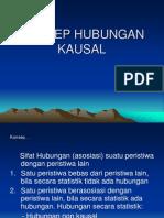 KONSEP HUBUNGAN KAUSAL