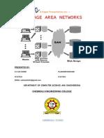 Storage Area Networks1