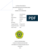 Laporan Praktikum Pembuatan Iodoform
