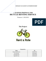 Rent & Ride Business Proposal