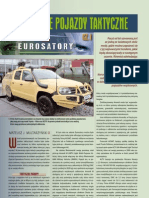 Tactical vehicles on Eurosatory 2012