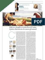 IL MUSEO DEL MONDO 9 - La Morte Di Procri Di Piero Di Cosimo (1495-1500) - La Repubblica 24.02.2013