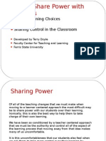 How to Share Power With Students to Promote Learning