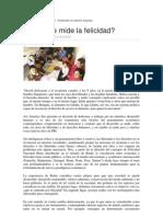 UNIDAD II Como Se Mide La Felicidad. Cristina Calvo