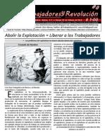 Trabajadores y Revolución #8