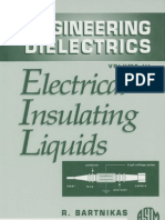 Electrical Insulating Liquids by R. Bartnikas