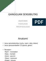 GANGGUAN SENSIBILITAS