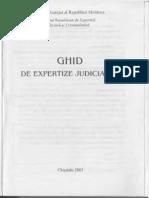 Ghid de expertiza judiciare. Chisinau 2005