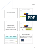 Slides 15 - Genetica de Populacoes