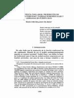 María Inés Delannoy De Jesús, Sin Licencia Para Amar, 69 Rev Jur UPR 1281 (2000)