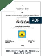 Coca Cola ( Consumer Buying Behaviour) (2)