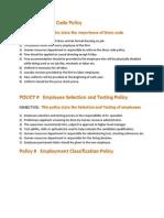 7 Policies