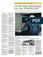 Luis Peirano, ministro de Cultura de Peru. Entrevista