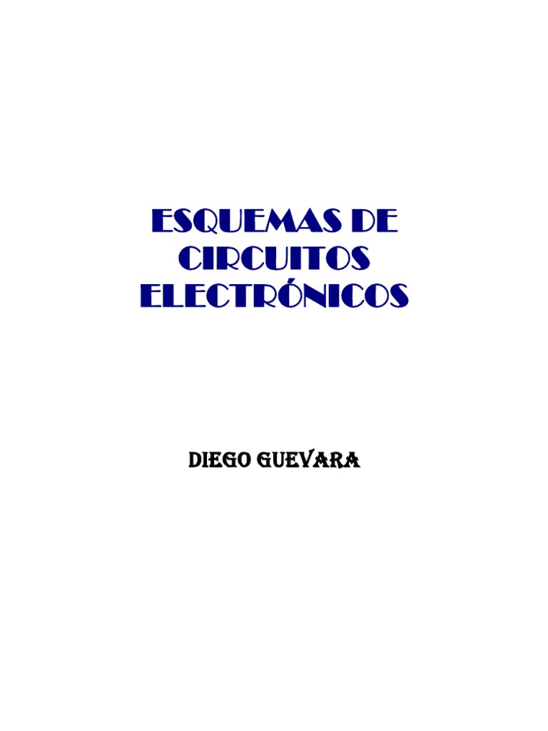 Esquemas De Circuitos Electrnicos Amplifier Operational Led Flasher By Ic 4011 Circuit Wiring Diagrams