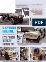 Tactical vehicles on MSPO 2012