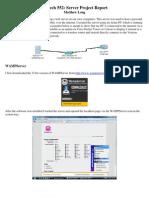 EDTECH 552 Web Server Project Report