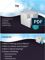 A Presentation on Ethical Hacking