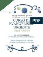 Curso Online Gratuito de Evangelismo