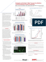 SAFC Biosciences Scientific Posters - Development and Optimization of EX-CELL™ EBx™ Serum-Free Medium for Virus and Recombinant Protein Production
