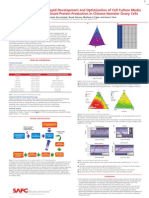 SAFC Biosciences Scientific Posters - Streamlined Strategy for Rapid Development and Optimization of Cell Culture Media Supporting High Recombinant Protein Production in Chinese Hamster Ovary Cells