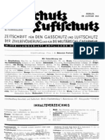 Gasschutz und Luftschutz 12.Jahrgang 1942 / Zeitschrift für das gesamte Gebiet des Gas- und Luftschutzes der Zivilbevölkerung