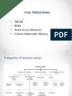 VLSI Array Subsystems
