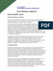 57493451 El Arte de La Resistencia Cultural