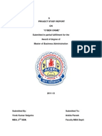 a project report on Cyber Crime