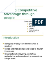Building Competitive Advantage Through People