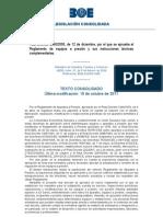 Real Decreto 2060-2008 Consolidado 2011-10-15