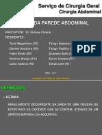 HÉRNIAS DA PAREDE ABDOMINAL E INGUINAIS FINAL MODIF. 1