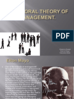 Behavioral Theory of Management