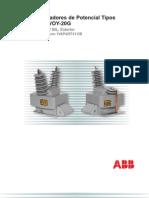 Transformadores de Potencial Tipos VOY-20_VOY-20G_sp.pdf