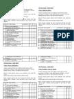 Y10 CPE Revision Checklists